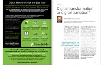 Digital Transformation or Digital Transition?